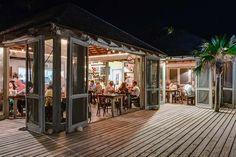 Tippy's beachfront restaurant at night. #pineapplefields #resort #eleuthera #bahamas #amazing