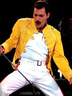 Freddie Mercury Concert Yellow Jacket