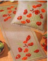 Wichelt Imports has premium qu Beaded Cross Stitch, Cross Stitch Flowers, Cross Stitch Embroidery, Cross Stitch Patterns, Embroidery Suits Design, Cute Embroidery, Embroidery Patterns, Sewing Essentials, Linen Placemats