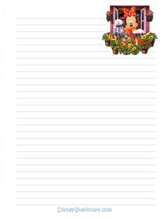 Minnie Mouse Stationary - Stationary Photo (223217) - Fanpop