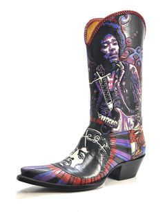 Voodoo Chile - Handmade Cowboy Boots from Liberty Boot Co Custom Cowboy Boots, Cowgirl Boots, Western Boots, Liberty Boots, Old Gringo, Vintage Boots, Sexy Heels, Shoe Boots, Shoes