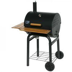 Grill´n Smoke Rookie Classic BBQ-Grill 7430  Der Rookie Classic ist etwas größer wie der Patio Classik, aber ebenfalls nachträglich mit einer Side Fire Box kombinierbar
