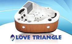 3 person corner hot tub. Love Triangle 2 Person  22 Jet Corner Spa 220 Volt or 110 Plug and Play Portabl Hot tubs 31 Tub perfect for the patio Patio Yard