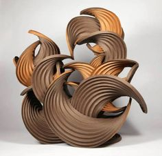 WOW>>Paper Origami Curved-Crease Sculpture by Martin Demaine