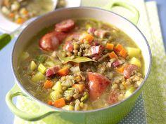 Eintopf - deftige Suppen mit ganz viel drin - linseneintopf
