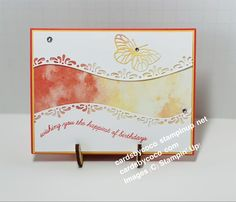 Birthday Wishes, Birthday Cards, Handmade Stamps, Paper Crafts, Diy Crafts, Coordinating Colors, Stampin Up, Your Cards, Diys
