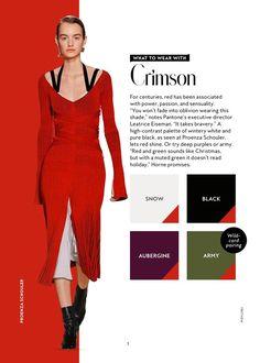 Colour Combinations Fashion, Color Combinations For Clothes, Fashion Colours, Colorful Fashion, Color Combos, Color Schemes, Mode Portfolio Layout, Fashion Portfolio Layout, Red Colour Palette
