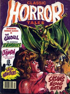 Cover for Horror Tales (Eerie Publications, 1969 series) #v10#1