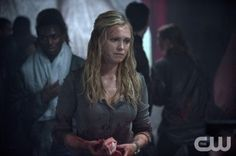 """The 100 --  """"Contents Under Pressure"""" -- Image: HU107a_0177 -- Pictured: Eliza Taylor as Clarke -- Photo: Cate Cameron/The CW -- © 2014 The CW Network, LLC. All Rights Reserved"""