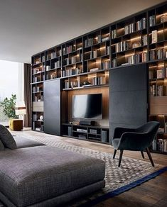 Modern Living Room Set Up 50 Cozy Tv Room Setup Inspirations Living Room Tv, Home And Living, Modern Living, Modern Tv, Modern Luxury, Kitchen Living, Modern Contemporary, Living Spaces, Home Interior