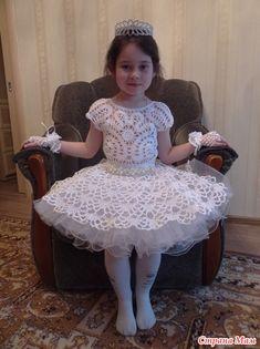 Платье на выпускной в детский сад - Вязание - Страна Мам