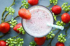 Idées smoothie #3 Smoothie au lait d'avoine à la fraise – The Caci Corner