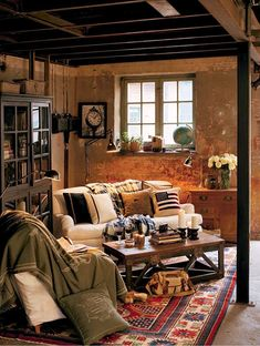 13 Clever Unfinished Basement Ideas On A Budget, You Should Try!