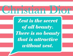 Ms. Style and Grace: Style & Grace Quote of the Day: Christian Dior
