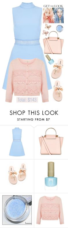 """Weekend Style Under $150 '"" by dianefantasy ❤ liked on Polyvore featuring Uttam Boutique, Monsoon, GetTheLook, inspiration, pinkandblue and polyvoreeditorial"