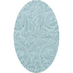 Dalyn Rug Co. Bella Blue Area Rug Rug Size: Oval 10' x 14'
