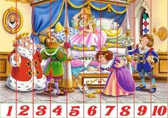Puzzles, Color Activities, Early Education, Baby Crafts, 4 Kids, Kids Cards, Kids And Parenting, Fairy Tales, Kindergarten