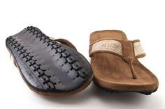 Reduce landfills:  sandals made from old tires