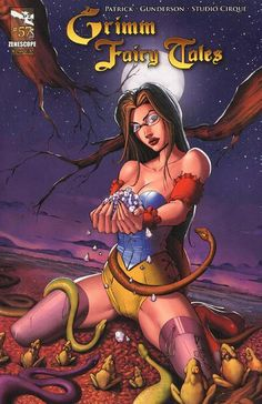 Cover for Grimm Fairy Tales (Zenescope Entertainment, 2010) #57