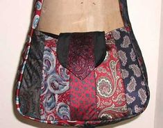 Free Bag Pattern and Tutorial - Necktie School Bag