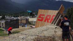 Super Tricks die von den Mountainbikern da hingelegt werden - must see!