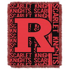 Show team spirit at the stadium or at home when you cover yourself with this throw that features the Rutgers' team logo and colors. The throw is made from 100 percent high bulk acrylic, making it long
