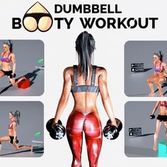 Dumbbell Butt Workout, tag your workout buddy ❤️ . #fitonomy Download @Fitonomy now, link in our bio.