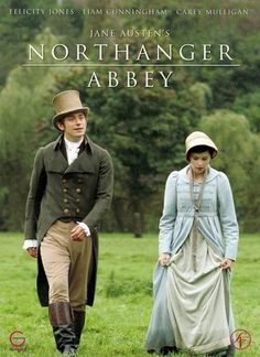 Northanger Abbey by Jane Austen. This book/movie is very light-hearted, though not as witty as some of Austen's other works. Henry Tilney, however is a much more agreeable person than, dare I say it, Mr. Darcy? Also, Tilney understands muslin. : )