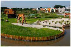 Noord-Holland; De Holle Bolle Boom, binnen en buiten speeltuin + zwembad