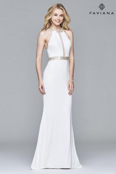 Faviana 7910 Timeless Evening Dress