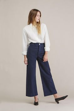 Sailor pant, Midnight by Jesse Kamm                                                                                                                                                                                 More