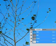 Photoshop channel masking tutorial