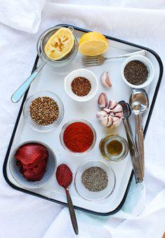 Easy Homemade Harissa ingredients || Simple Bites
