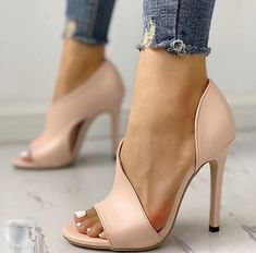 New Women Pumps shoes woman Fashion Sexy Pumps High Heels Summer Ladies Increased Stiletto Peep Toe Sandals Wedding Party Shoes - leopard 36 High Heel Pumps, Women's Pumps, Stiletto Heels, Shoes Heels, Heeled Sandals, Heels Outfits, Dress Shoes, Strappy Shoes, Sandals Outfit