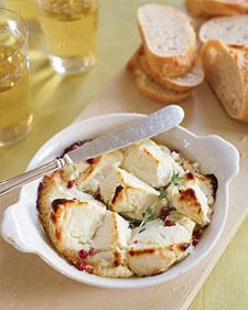 Be ready when friends stop by -- Easy Goat Cheese Appetizer