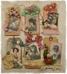 To scrap or not to scrap, that's the question.: Vintage Labels / Tags