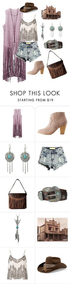 Romance&natural style #1 by catherinefurs on Polyvore featuring мода, Miss Selfridge, Charlotte Russe, M&F Western, Journee Collection and Maison Michel