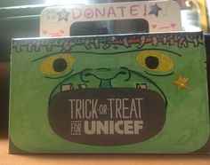 #ToT4UNICEF Box of the Day: Nang's glittery take on Frankenstein's monster is really detailed!