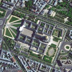 いいね!658件、コメント4件 ― DigitalGlobeさん(@digitalglobe)のInstagramアカウント: 「Les Invalides, also known as Hôtel national des Invalides (The National Residence of the Invalides)…」