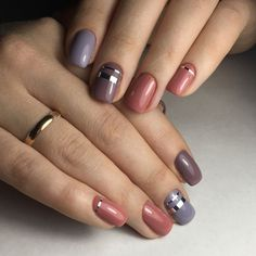 tape-nails-164 Top 57 Gel Nail Design Trends 2018 Nail Art trends nail gel design 2018