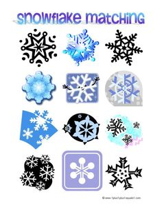 math worksheet : could put this in an activity book with sheet protectors for re  : Snowflake Math Worksheets