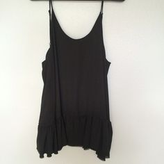 Brandy Melville Black Grace Dress Worn once for an hour. No flaws! Thick version Brandy Melville Dresses Mini