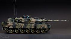 Leopard 2 A7 Scale 1/35