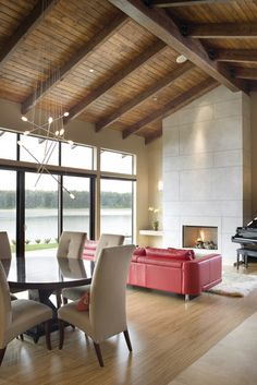 The Aurea - contemporary - living room - portland - by Alan Mascord Design Associates Inc