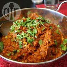 Masoor dhal (lentilhas ao curry) @ allrecipes.com.br