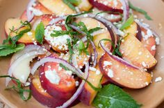 peach salad (the forest feast)
