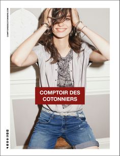 Comptoir des Cotonniers - Summer 2014 Campaign Photographer : Tung Walsh Model : Manon Leloup