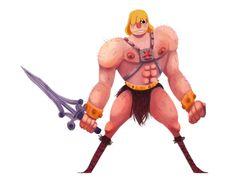 He-Man by caiobuca on DeviantArt