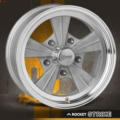 Hot Rod Strike As Cast Wheel To better serve the market, RPM designers and engineers carefully chose better backspacing and offsets to fit on more specific types of muscle car, street rod, hot rod applications. Modern Muscle Cars, Best Muscle Cars, Wheels And Tires, Car Wheels, Custom Cycles, Racing Wheel, Chrome Wheels, Rear Wheel Drive, Truck Accessories