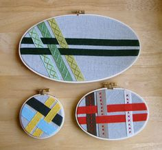 Crafting with Embroidery Hoops